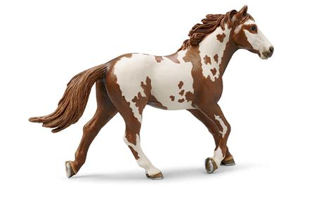 Amazon.com: Schleich Pinto Stallion: Toys & Games