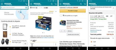 Amazon simplifica la compra de productos de EEUU desde España
