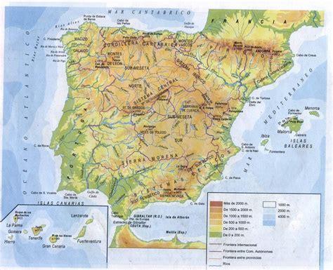Ambito Socio Lingüistico: mapa de los rios de españa