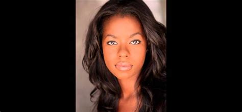 American actress Camille Winbush Find out about her ...