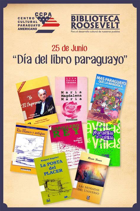 American Corner Paraguay: Día del Libro Paraguayo