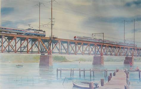 Amfleet Meets Metroliner Across the Susquehanna River ...
