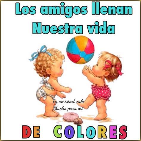 Amigos de colores - Frases divertidas para amigas