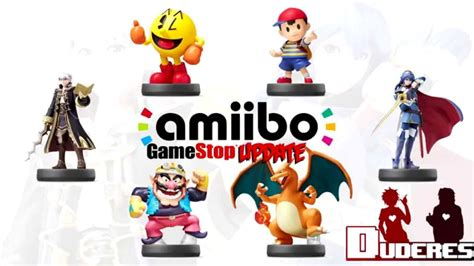 Amiibo Wave 4 Update (Gamestop dealings) - YouTube