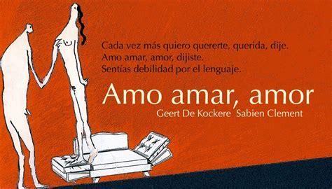 AMO AMAR, AMOR por Geert de Kockere - Barbara Fiore Editora