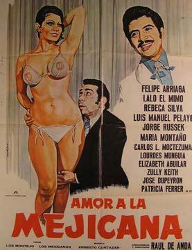 Amor a la Mejicana. Movie poster. Cartel de la Película ...