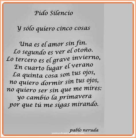 Amor en Poemas Largos de Pablo Neruda de Amistad | Poemas ...