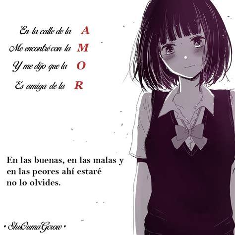 Amor. #ShuOumaGcrow #Anime #Frases_anime #frases | Frases ...