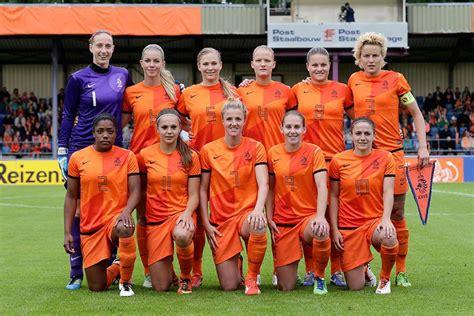 Análisis de la selección holandesa femenina
