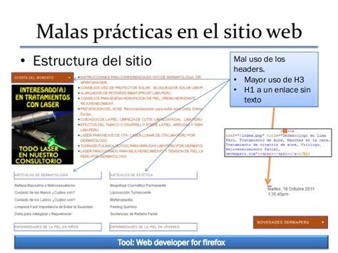 Analisis seo de un Sitio Web