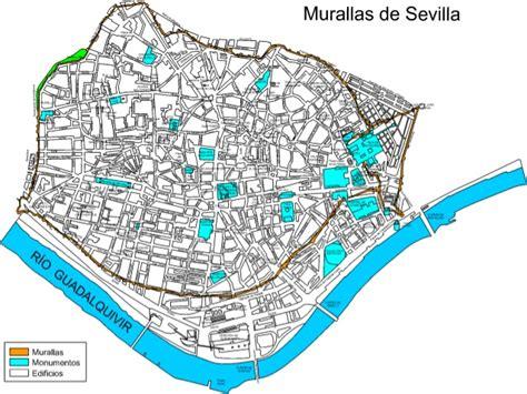 Analizar el plano urbano de sevilla  capital