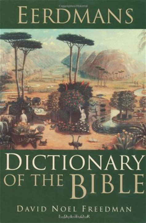 ANCHOR BIBLE DICTIONARY ONLINE | ANCHOR BIBLE DICTIONARY ...