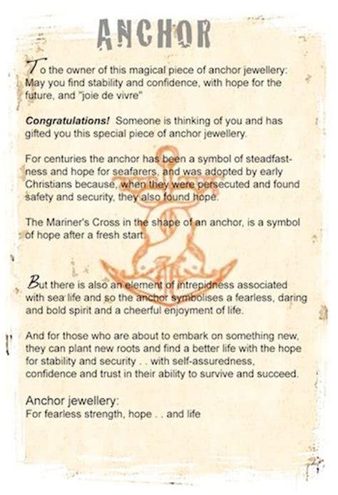 Anchor symbol meaning | Symbolic jewellery | Pinterest ...