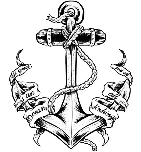 Anchor Tattoos PNG Transparent Anchor Tattoos.PNG Images ...