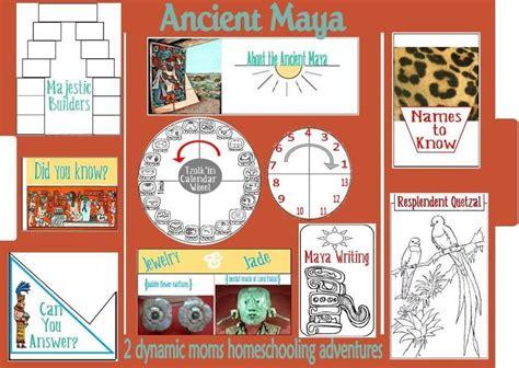 Ancient Maya Lapbook | Ideas escuela | Pinterest | Inca ...