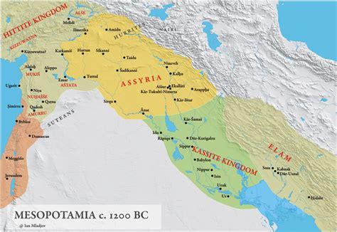 Ancient Mesopotamia CMap