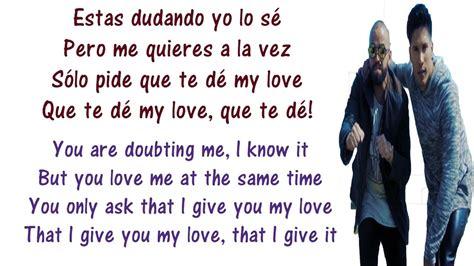 Andas En Mi Cabeza Lyrics English and Spanish   Chino y ...