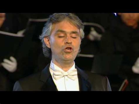 ANDREA BOCELLI  HQ  AVE MARIA  SCHUBERT    YouTube