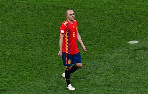 Andrés Iniesta anuncia su retiro de la selección de España ...
