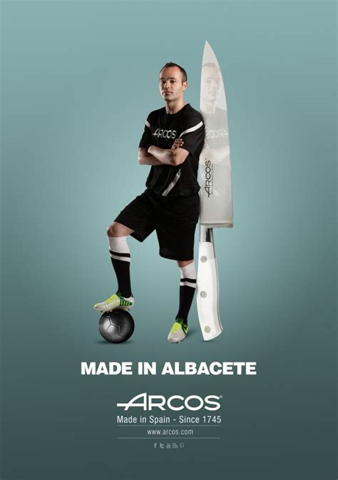 Andres Iniesta buys Arcos knives from Albacete | The ...