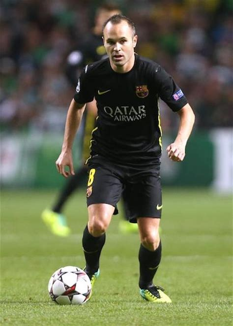 Andres Iniesta Height and Weight | Celebrity Weight