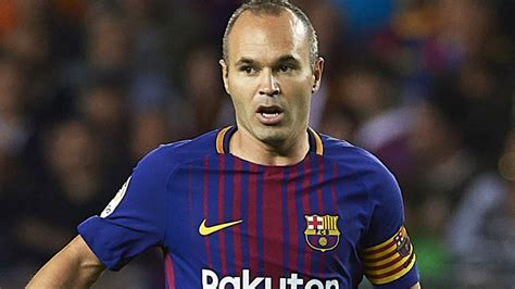 Andres Iniesta signs lifetime contract with Barcelona ...