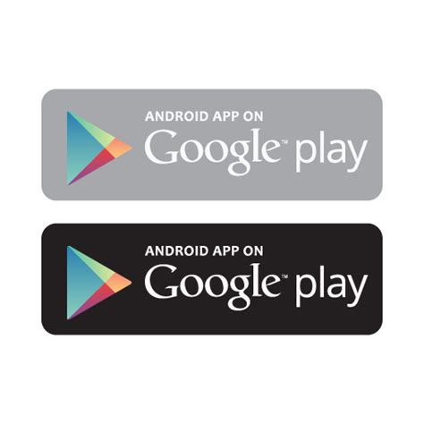 Android app on Google play store vector free