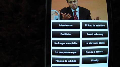 Android Frases celebres de Peña Nieto - YouTube