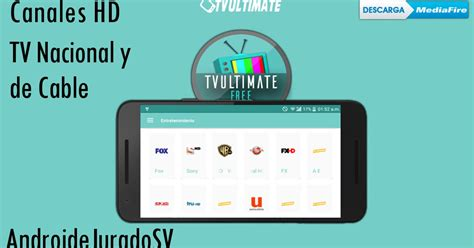 AndroideSV: TV Ultimate v2.0.1 Apk [TV GRATIS ANDROID 2017]