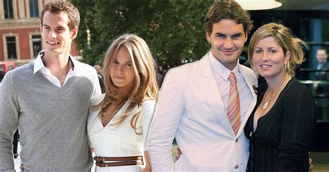 Andy Murray vs Roger Federer: Battle of the tennis WAGs as ...
