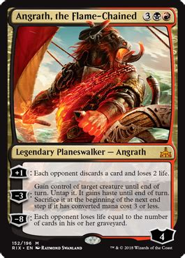 Angrath, the Flame-Chained - Planeswalker - Cards - MTG ...