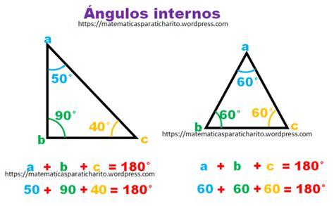 Ángulos en los triángulos | matematicas para ti