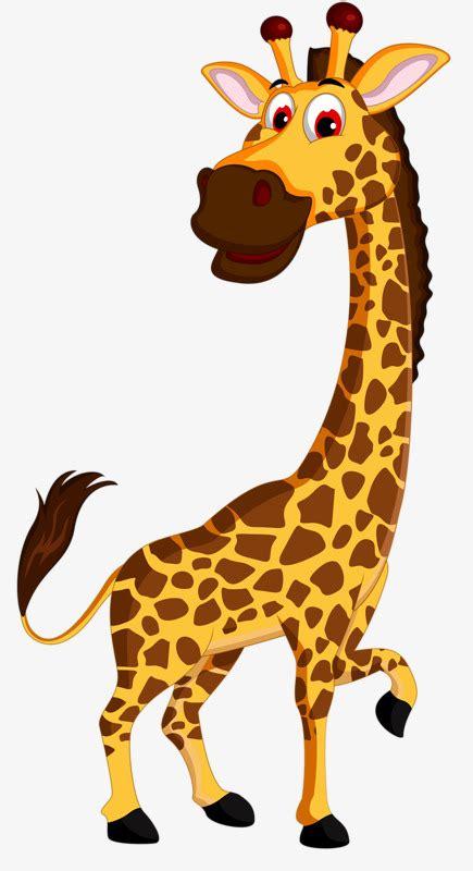Animado Jirafa Jirafa Deer Deer Imagen PNG para Descarga ...