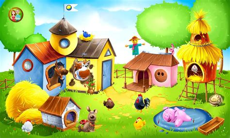 Animal Farm for Kids - Learn Animals for Toddlers ...