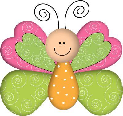 Animales infantiles-mariposa fucsia y verde
