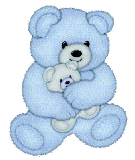 Animales infantiles-ositos azules