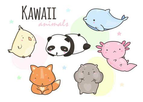 Dibujos Kawaii Animales Seonegativo Com