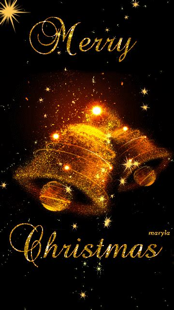 Animated Merry Christmas Bells Pictures, Photos, and ...