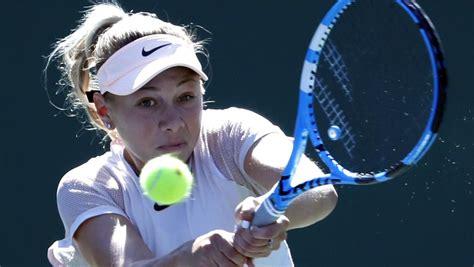 Anisimova, la primera rival de Garbiñe en el Open de Miami