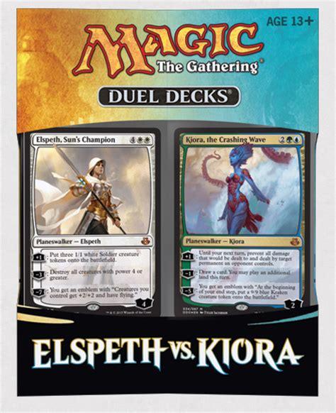 Announcing Duel Decks: Elspeth vs. Kiora | MAGIC: THE ...