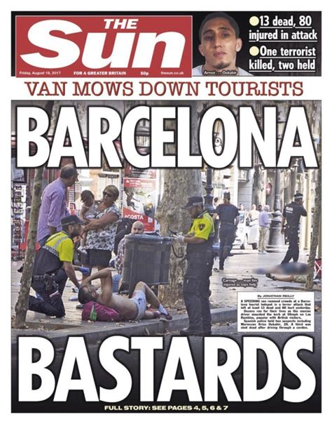 Anorak | Barcelona terror: the front pages