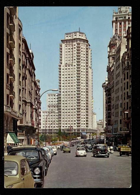 años  60, abajo, plaza de españa. | Madrid 1960 | Pinterest