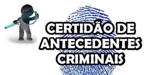 Antecedentes Criminais   Consultar Atestado