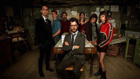 Antena 3 estrena  La casa de papel  el próximo martes 2 de ...