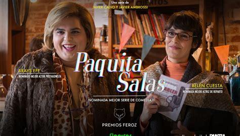 ANTENA 3 TV | La serie de Flooxer 'Paquita Salas' consigue ...