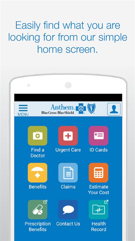 Anthem Blue Cross Blue Shield   Android Apps on Google Play