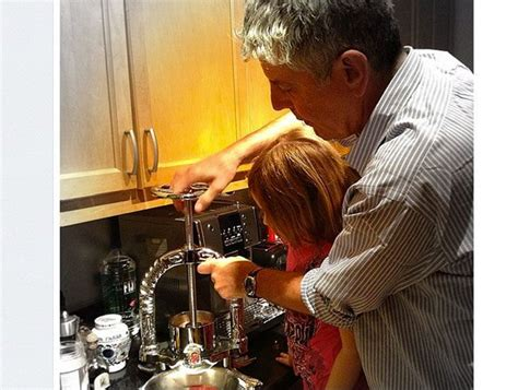 Anthony Bourdain  And Child   Husband and daughter ...