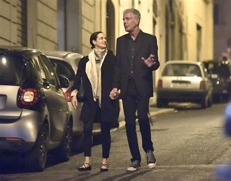 Anthony Bourdain and Girlfriend Asia Argento Spotted ...