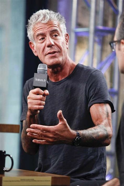 Anthony Bourdain fires back at protestor who claimed ...