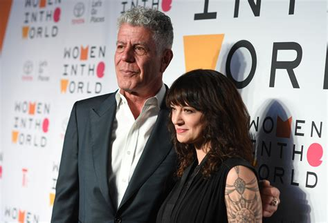 Anthony Bourdain s Girlfriend: Who Is Asia Argento?